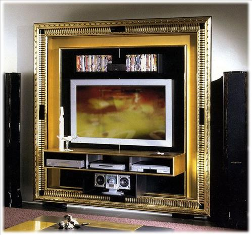 Arredo Рама под TV VISMARA   The Frame Home Cinema - Art Deco 02
