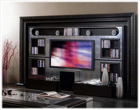 Arredo Стенка VISMARA   The Wall Home Cinema Classic