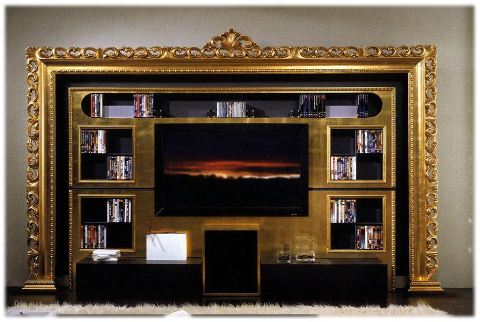 Arredo Стенка VISMARA  The Wall Home Cinema-Baroque 02