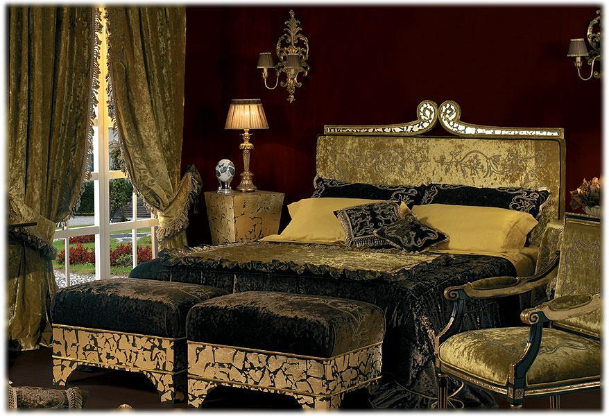 Arredo Кровать DANIELA LUCATO QUEEN GOLD 02