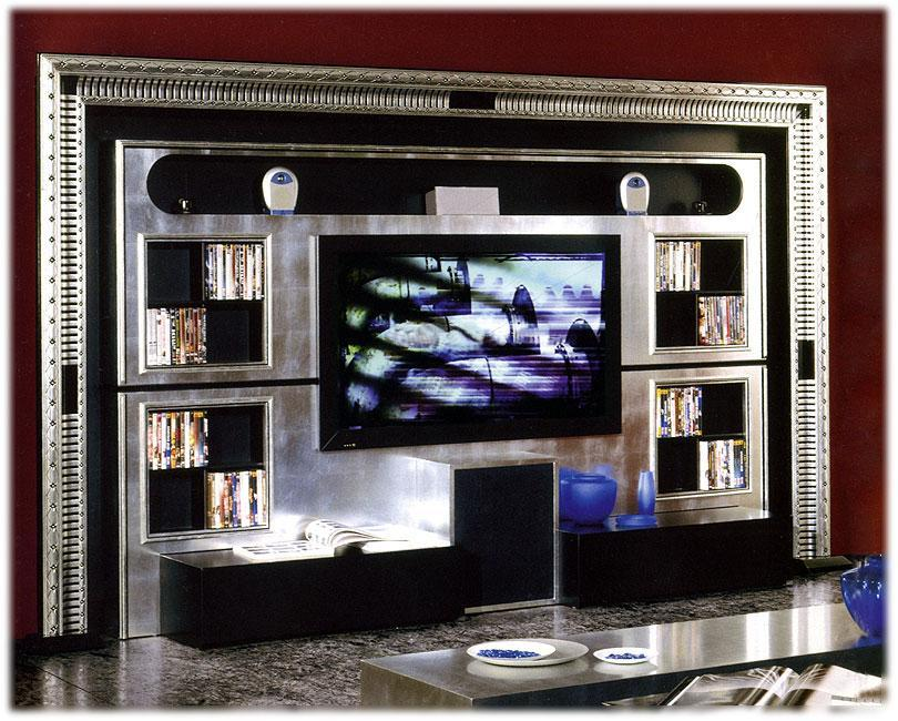 Arredo Стенка VISMARA  WALL HOME CINEMA_Art Deco