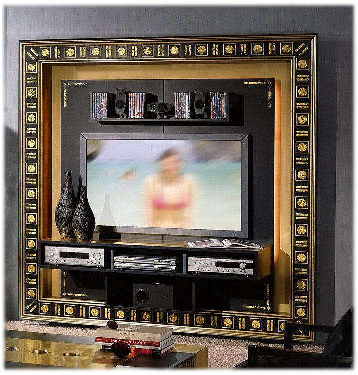 Arredo Рама под TV VISMARA  The Frame Home Cinema-Gold Eyes