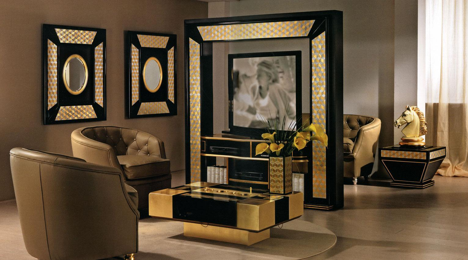 Arredo Стойка для TV–HI–FI VISMARA  Revolving Home Cinema-Mosaik