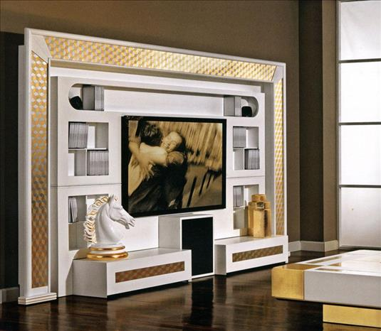 Arredo Стенка VISMARA   The Wall Home Cinema-Mosaik