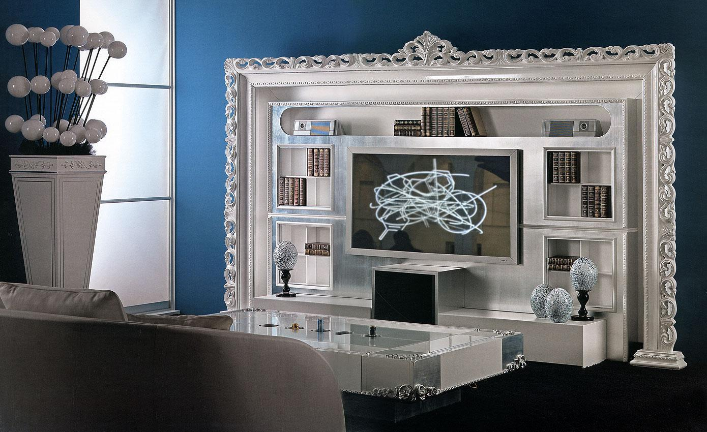 Arredo Стенка VISMARA  The Wall Home Cinema-Baroque 03