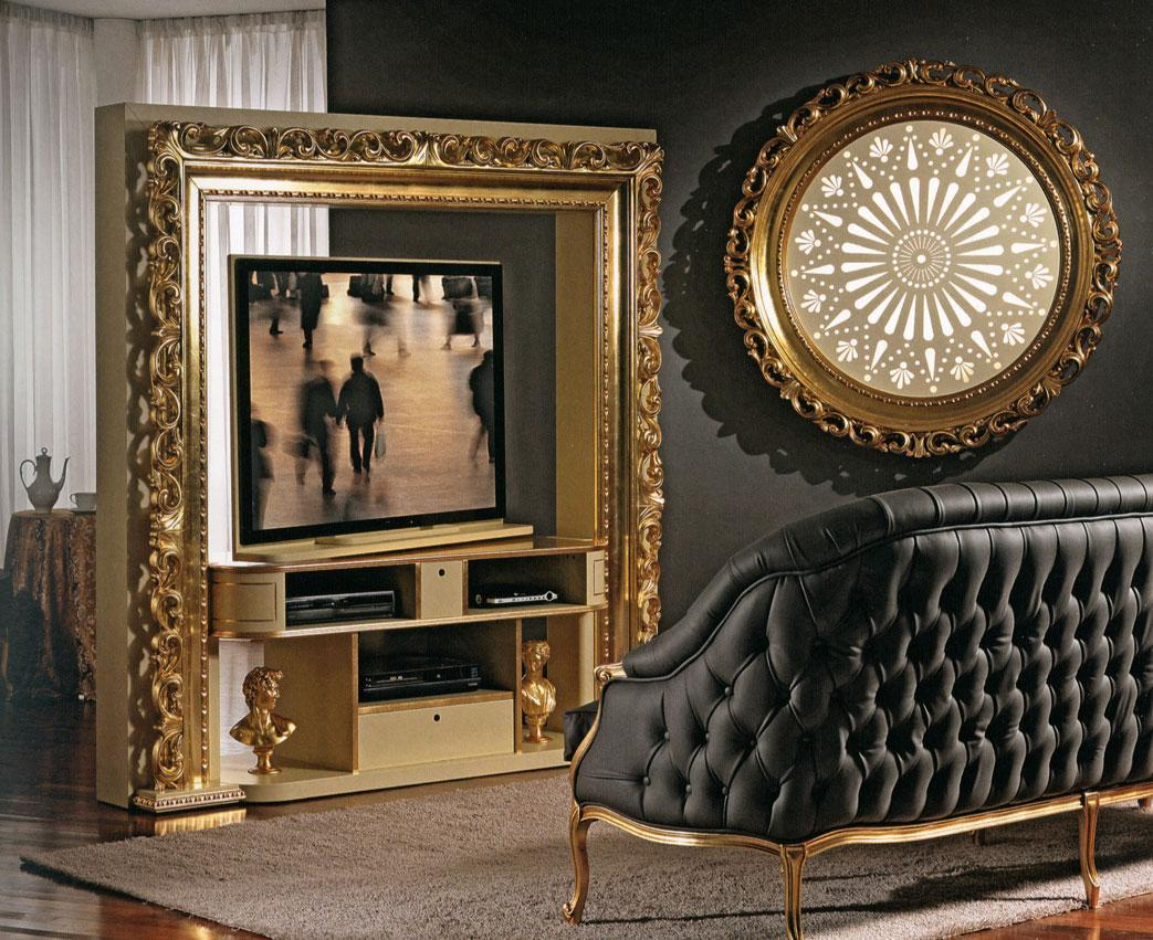 Arredo Стойка для TV–HI–FI VISMARA  Revolving Home Cinema-Baroque