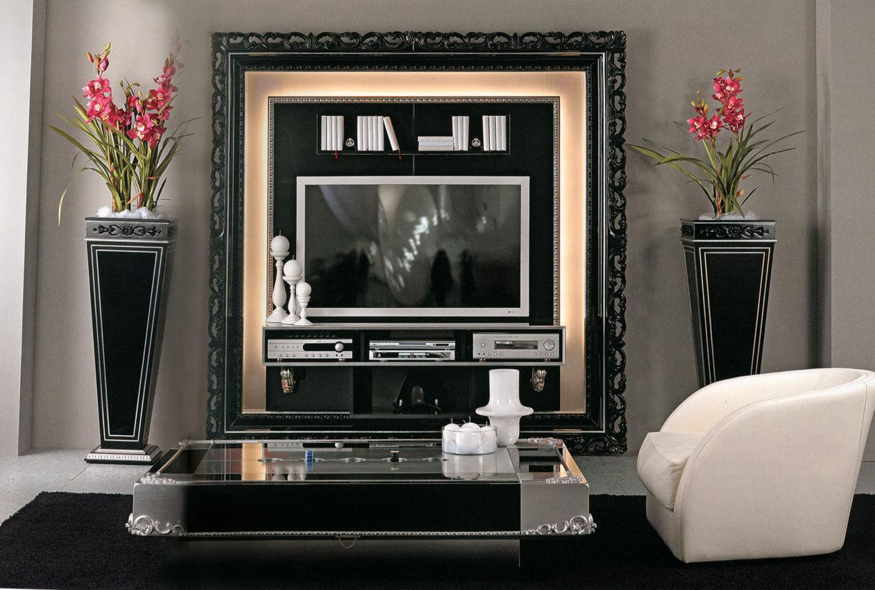 Arredo Рама под TV VISMARA  The Frame Home Cinema-Baroque 01
