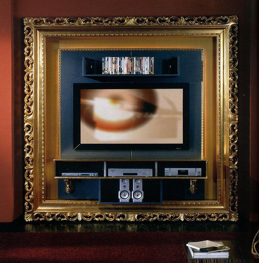 Arredo Рама под TV VISMARA  The Frame Home Cinema-Baroque 02