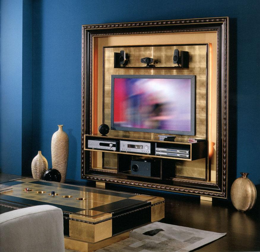 Arredo Рама под TV VISMARA  The Frame Home Cinema-Classic 01