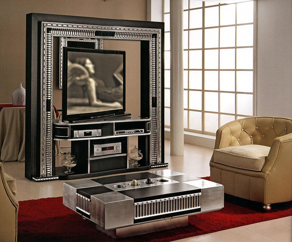 Arredo Стойка для TV–HI–FI VISMARA  Revolving Home Cinema-Art Deco