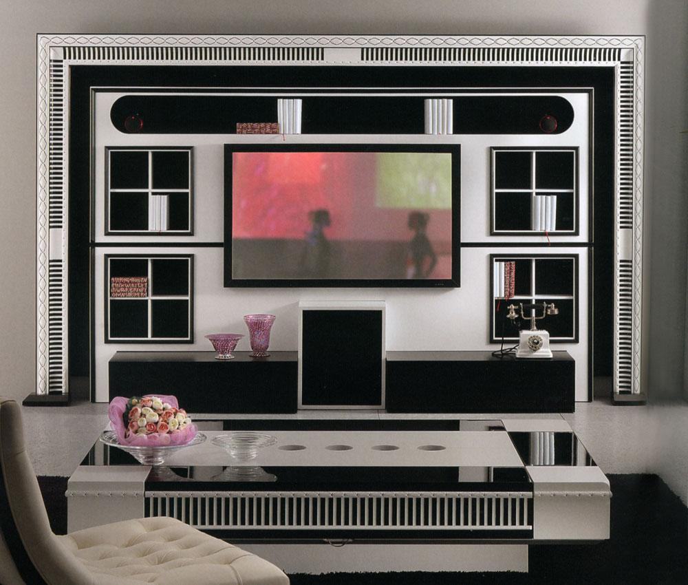 Arredo Стенка VISMARA  The Wall Home Cinema-Art Deco 01