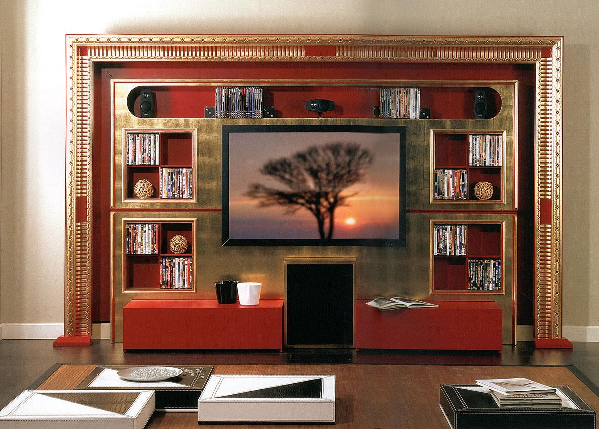 Arredo Стенка VISMARA  The Wall Home Cinema-Art Deco