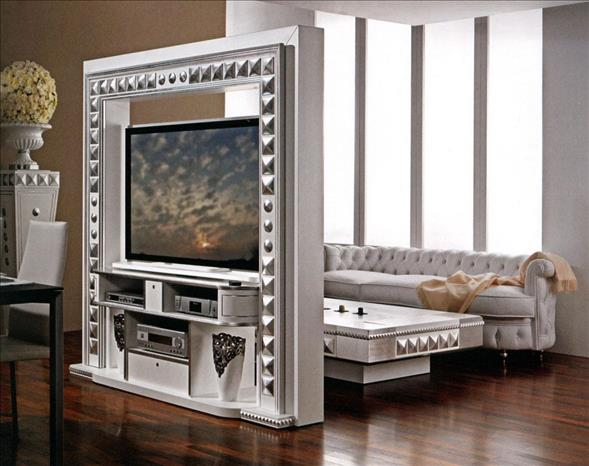 Arredo Стойка для TV–HI–FI VISMARA   Revolving Home Cinema-Piramid