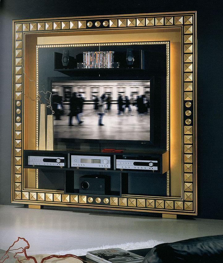 Arredo Рама под TV VISMARA  The Frame Home Cinema-Piramid
