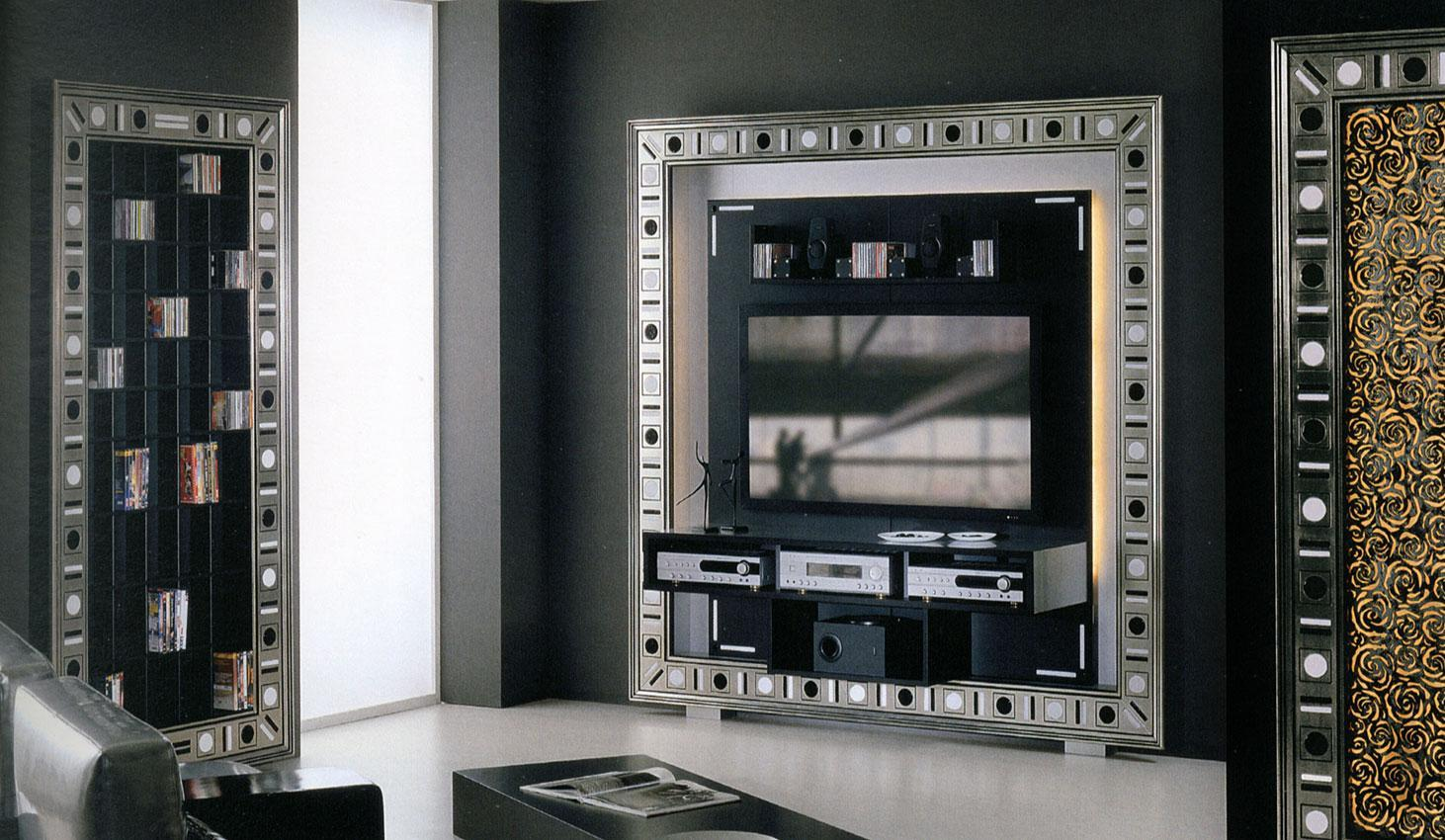 Arredo Рама под TV VISMARA  The Frame Home cinema-Glass Eyes