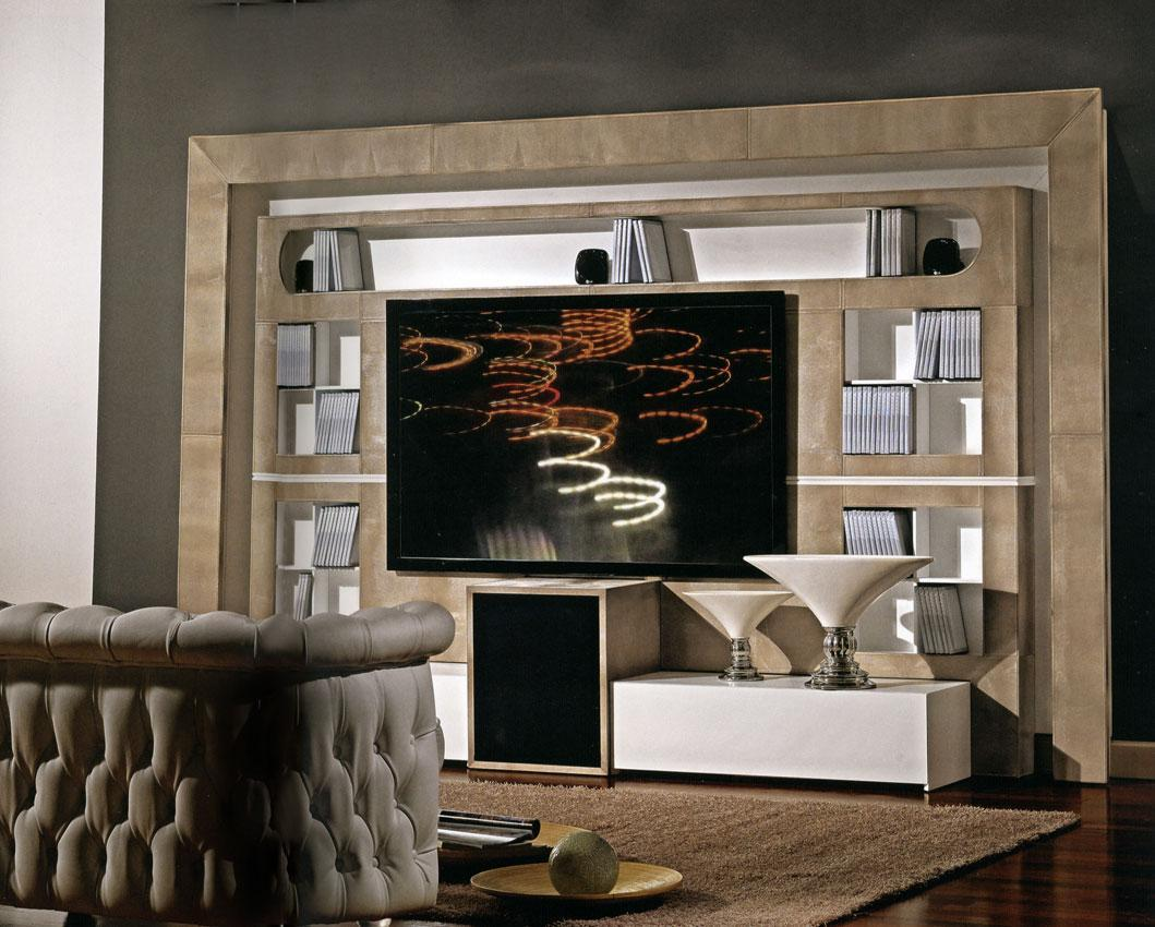 Arredo Стенка VISMARA  The Wall Home Cinema-Modern