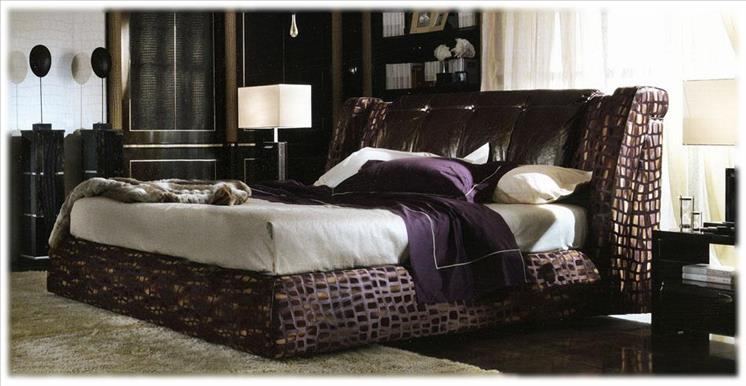 Arredo Кровать TURRI Genesis Leather and Nura Bed T438K + T439   1