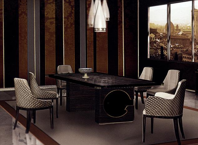 Arredo Стол FORMITALIA  FIORENZA dining table