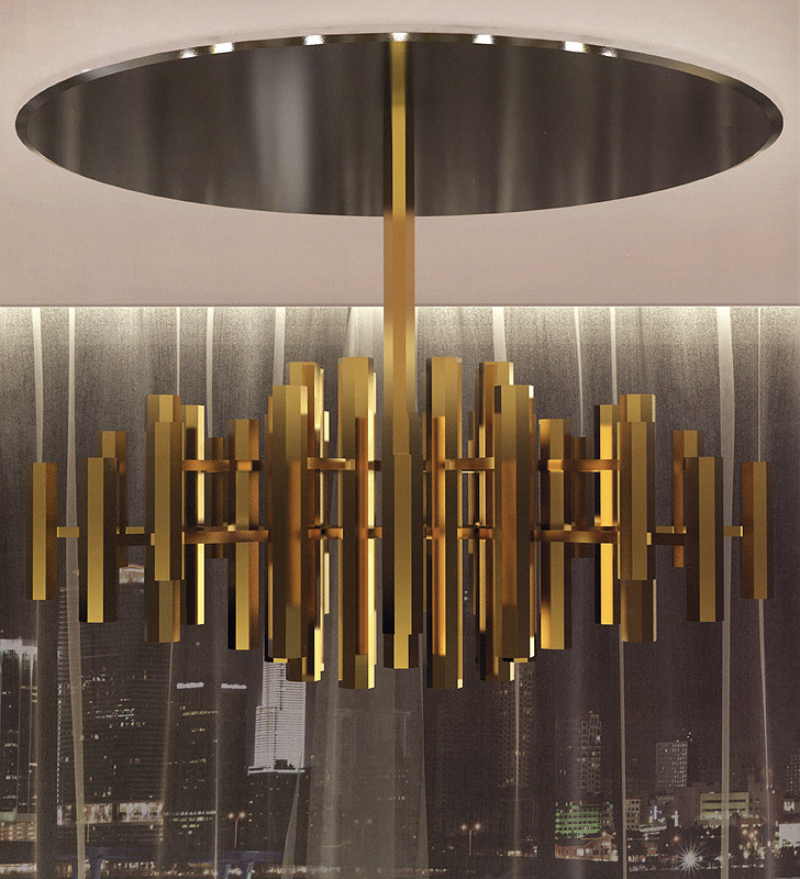 Arredo Люстра FORMITALIA METROPOLIS ceiling suspension