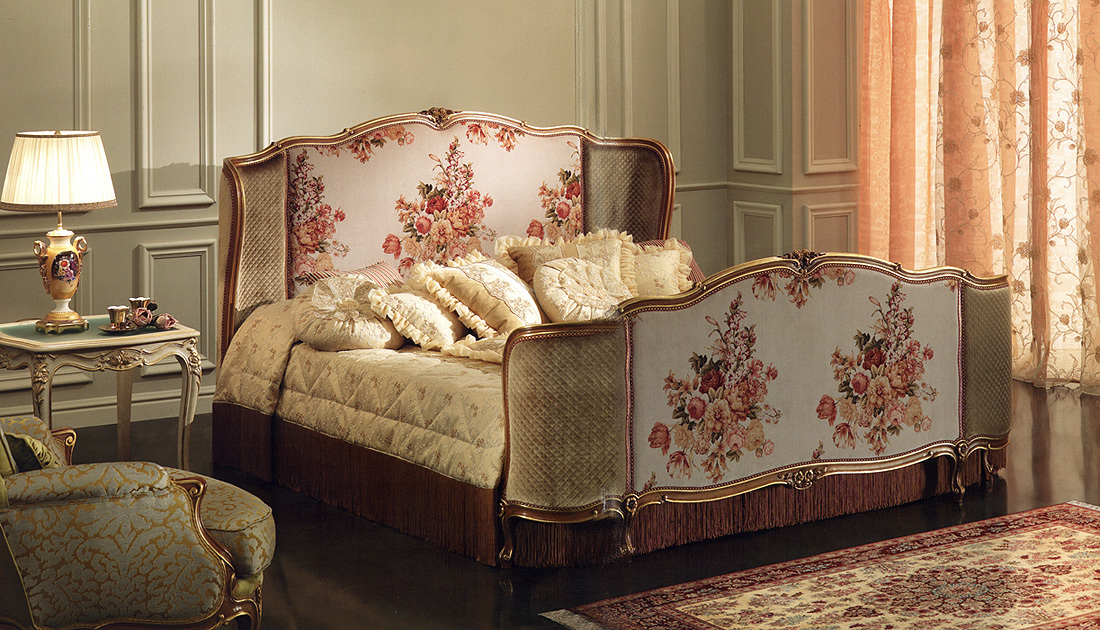 Arredo Кровать BEDDING LA VIE EN ROSE