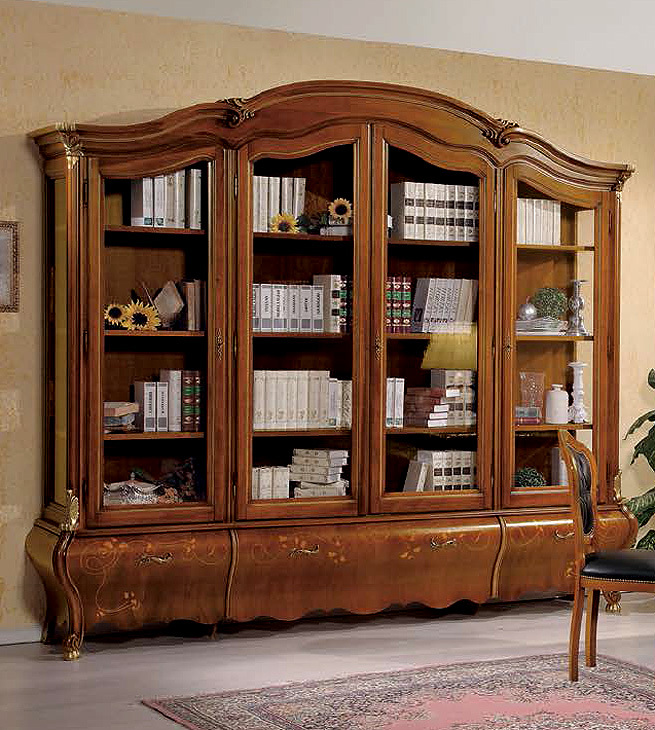 Arredo Книжный шкаф VACCARI INTERNATIONAL P731-NY