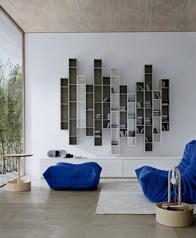 Arredo Стеллаж LIGNE ROSET BOOK&LOOK 01