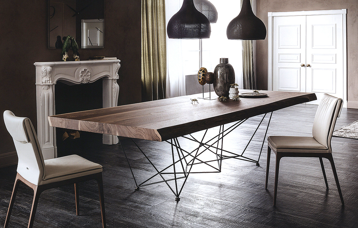Arredo Стол CATTELAN ITALIA GORDON DEEP WOOD
